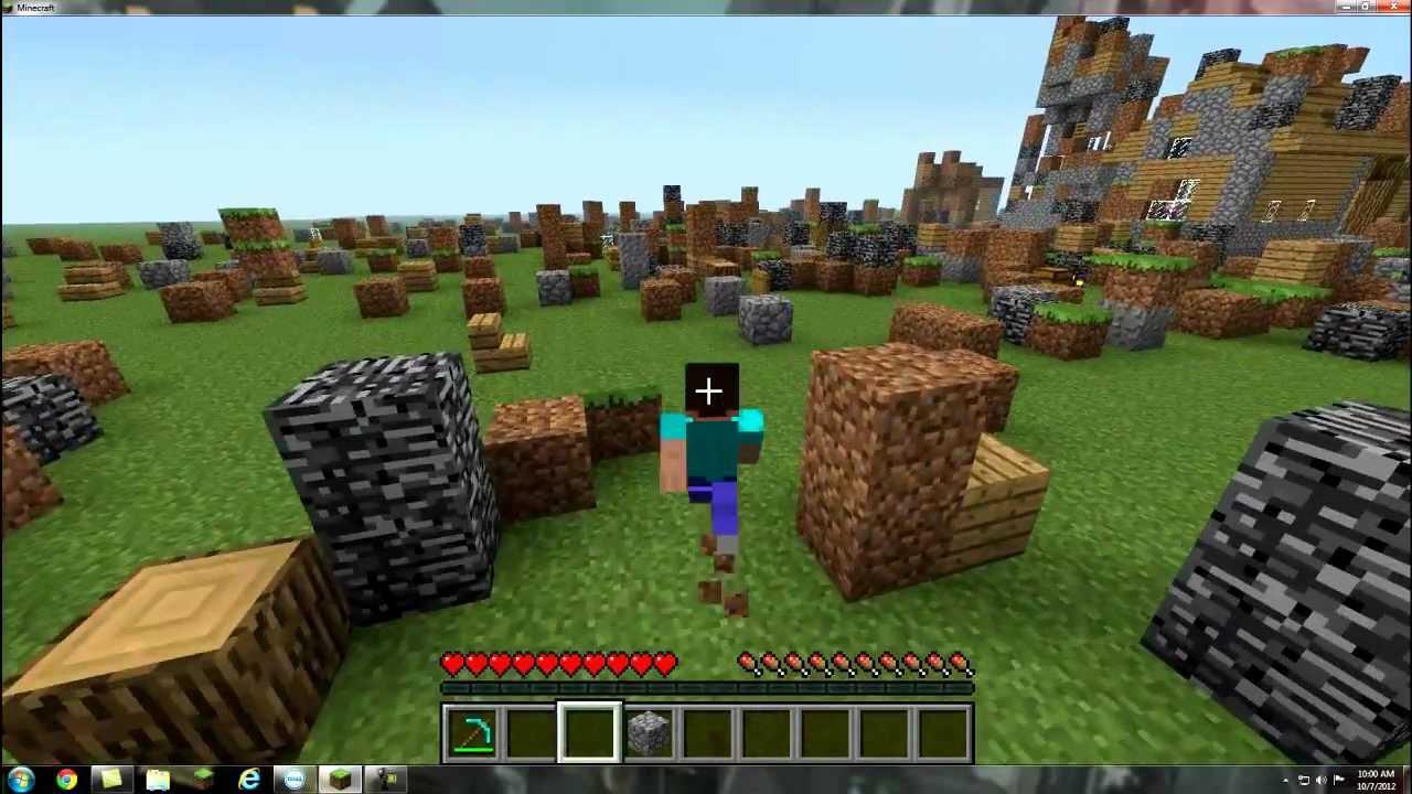 Minecraft steve attacks the villagehd youtube minecraft steve attacks the villagehd sciox Images