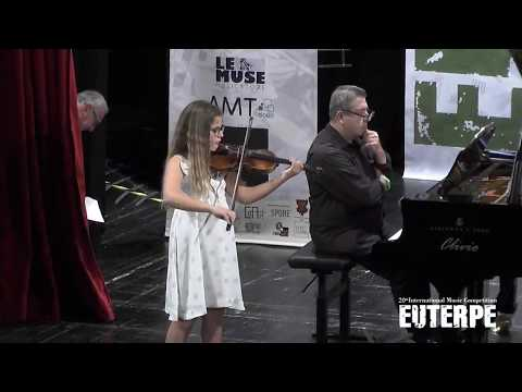Euterpe Competition Gala Concert 21/10/2018