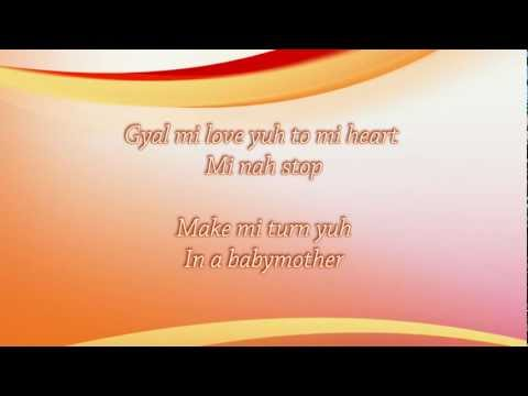 Vybz Kartel - Love Yuh To Mi Heart (lyrics on screen)