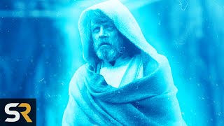 Star Wars Theory: Luke Was A Ghost The Whole Time In The Last Jedi