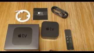 Apple TV 4ª Geração (4th Generation) - Desembalagem (Unboxing) em 4k - Português Brasileiro