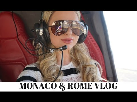 Travel Vlog - Monaco & Rome | Emily Berry