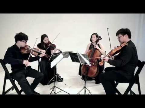 Meison Quartet - Hornpipe from Water Music - Handel - String Quartet