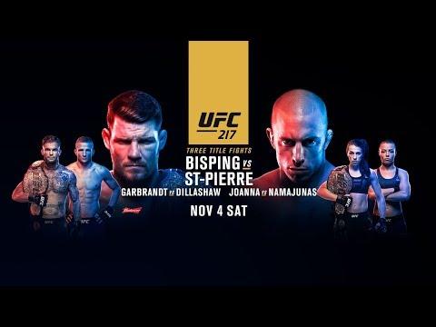 UFC 217: Bisping vs St-Pierre