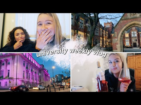a realistic week of uni   planning my year abroad, food shop & zoom quizzes