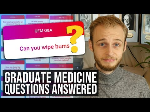 Your Graduate Entry Medicine Questions Answered! | PostGradMedic