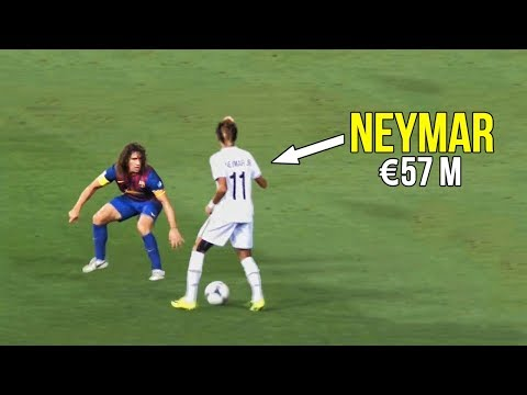 The match that made Barcelona buy Neymar Jr because of his crazy skills | €57 million