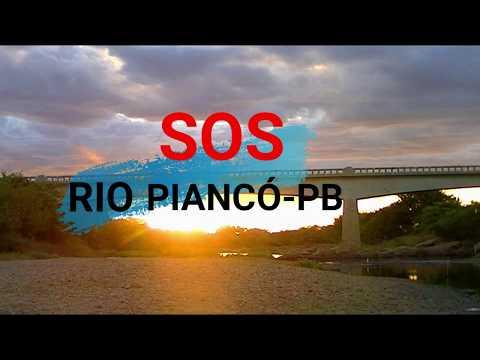 Rio Piancó recebe diariamente toneladas de dejetos de esgotos. Vídeo!