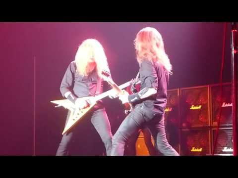Megadeth - She-Wolf (Houston 07.09.17) HD