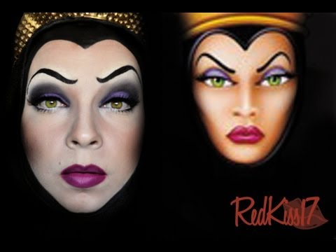 maquillaje bruja blancanieves