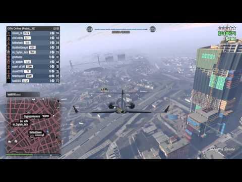 JAGS GTA Online - Luxor Jet Lands In Tunnel!