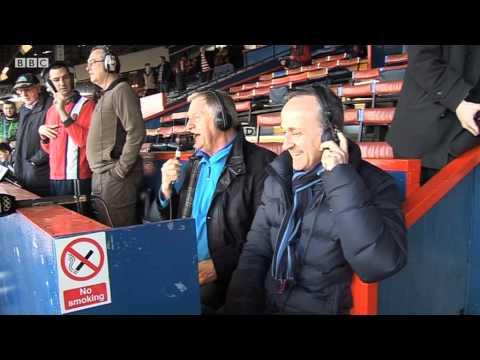 Chris Tarrant Football Commentator!