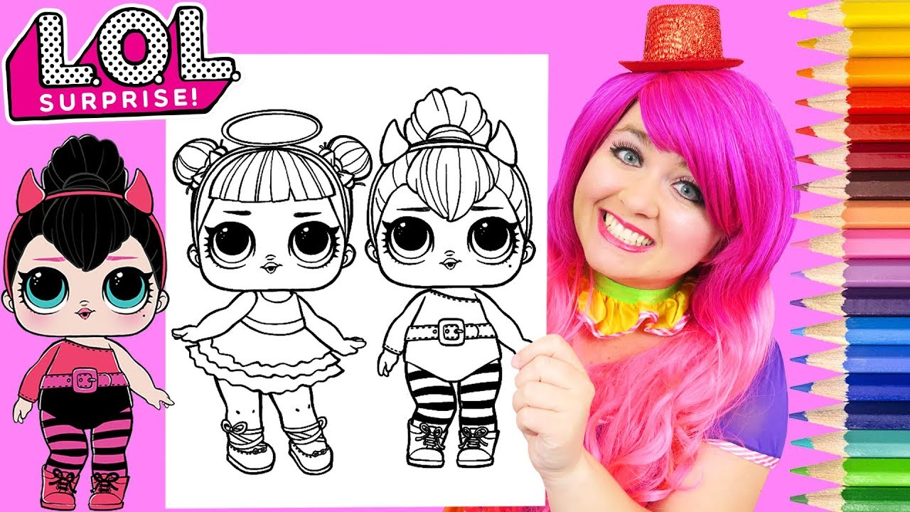Coloring Lol Surprise Dolls Sugar Spice Coloring Page