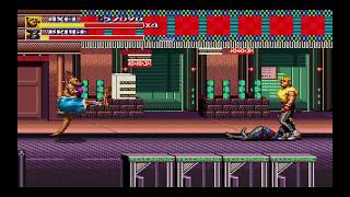 SEGA GENESIS CLASSICS STREETS OF RAGE 3 PS4 FULL PLAYTHROUGH WITH AXEL AND SHIVA