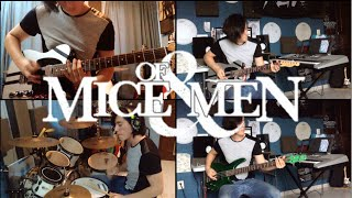 Pain - Of Mice & Men (Instrumental Cover) (Guitar Cover) (Bass Cover) (Drum Cover)