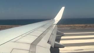 Boeing 737-800. Вылет из аэропорта г. Ираклион о.Крит 25.08.11(, 2014-08-29T19:33:35.000Z)
