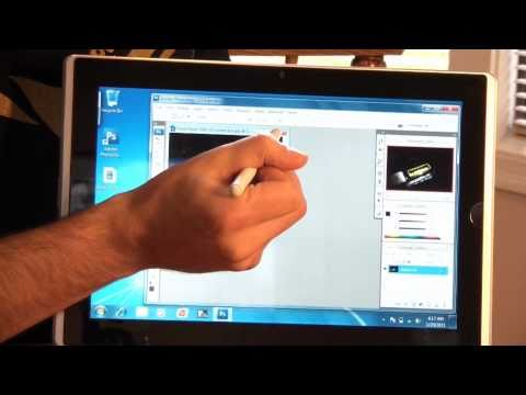 Eee Slate EP121 Tablet Hands-on Review 2/2