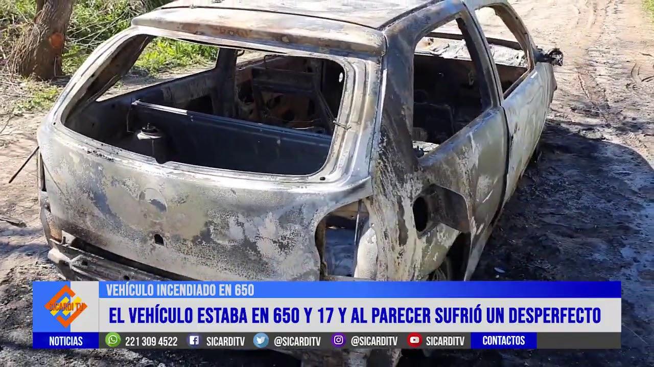 Villa Garibaldi: esta madrugada se incendió un vehículo