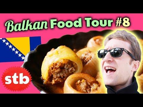 BALKAN FOOD TOUR #8: Trying Bosnian Food in Sarajevo, Bosnia