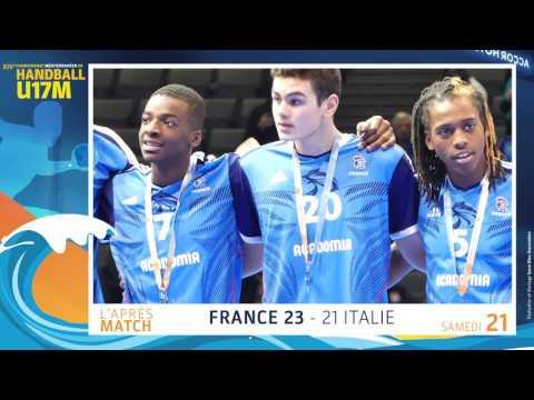Après-match France - Italie | Samedi 21 Janvier