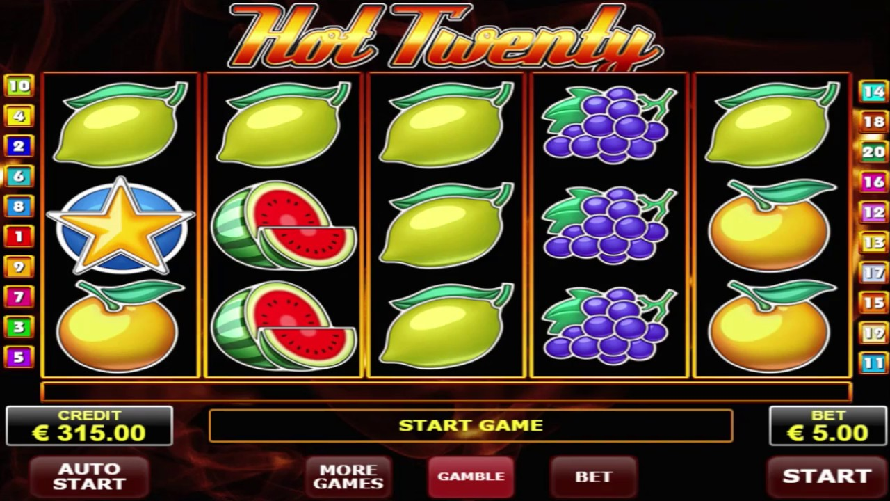 Hot Twenty Slot Machine