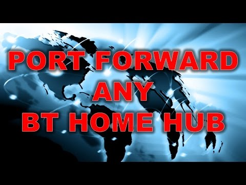 INCREASE INTERNET SPEED ON ANY DEVICE! - How to Port Forward a BT Home Hub [2016]