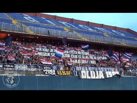 Bad Blue Boys / NK Dinamo - HNK Hajduk 06.08.2017