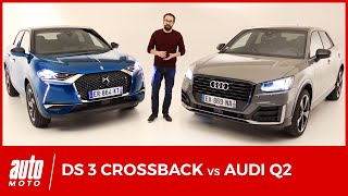 DS3 Crossback vs Audi Q2 : premier face-à-face