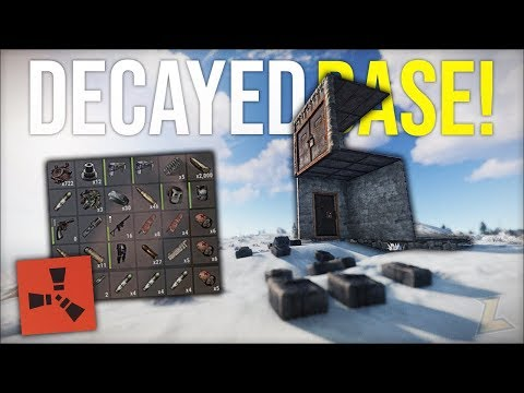 RUST DECAYED BASES GIVE INSANE WEAPON JACKPOT LOOT - Rust DUO Survival Gameplay (S4-E9)