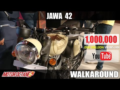Jawa 42 Walkaround Review | Hindi | MotorOctane