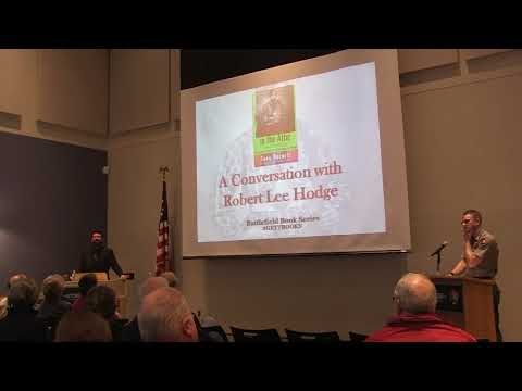 Confederates in the Attic book talk  by Robert Lee Hodge at Gettysburg