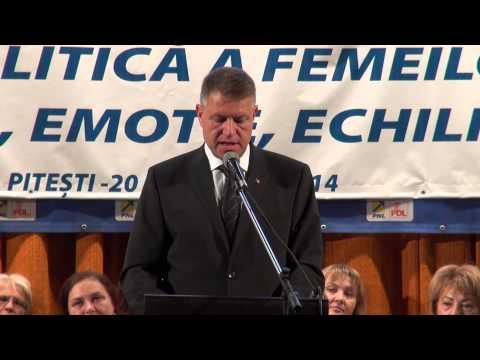 Discursul lui Klaus Iohannis la Pitesti 20 sept 2014
