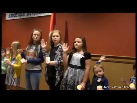 Children of the American Revolution - Reorganization Ceremony