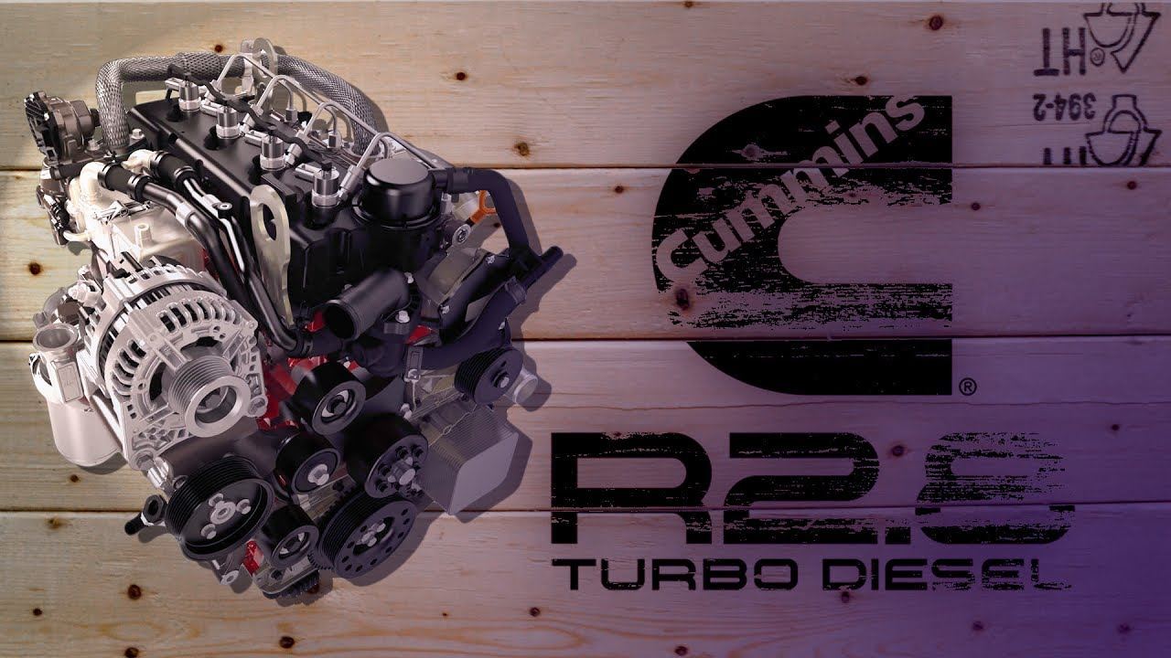 Turbo Diesel Crate Engine for your Overland Rig - Cummins R2 8