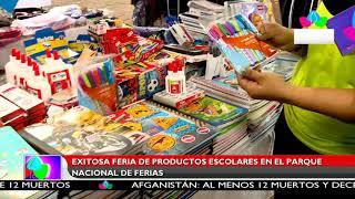 Multinoticias | Exitosa feria de productos escolares en el Parque Nacional de Ferias