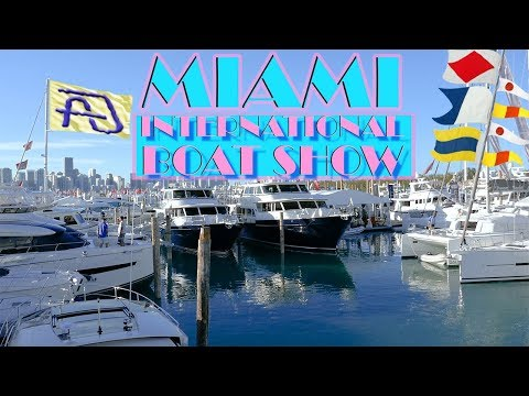 2018 MIAMI INTERNATIONAL BOAT SHOW