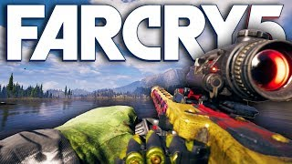 Far Cry 5 NEW MOST POWERFUL WEAPON 'BUZZSAW' (Far Cry 5 Free Roam) [LIVE EVENT]