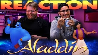 Aladdin Honest Trailer REACTION!!