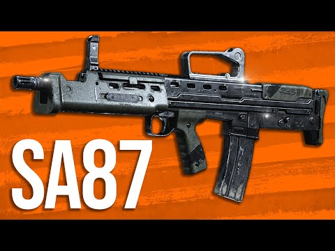 Modern Warfare In Depth: SA87 LMG Review (Worst Weapon!?)