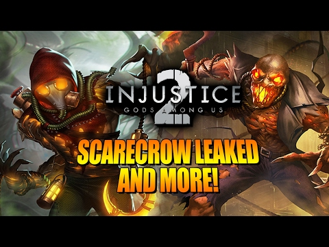SCARECROW LEAK, Cyborg, Green Lantern & More - INJUSTICE 2 Update