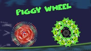 Bad Piggies - PIGGY WHEEL EXPERIMENT! (Field of Dreams)