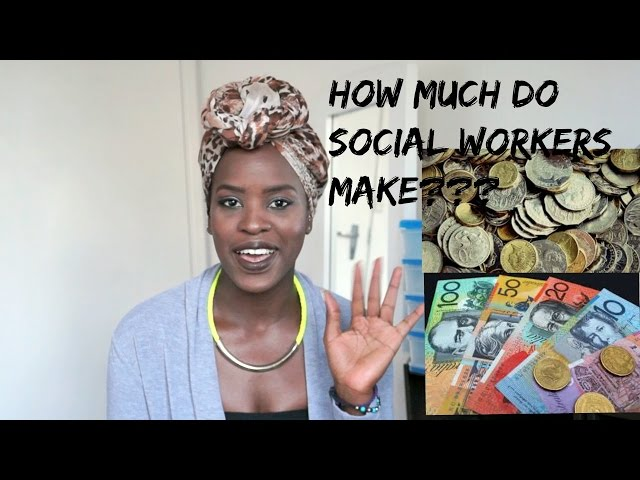 How much do social workers make???? Social Work - YouTube