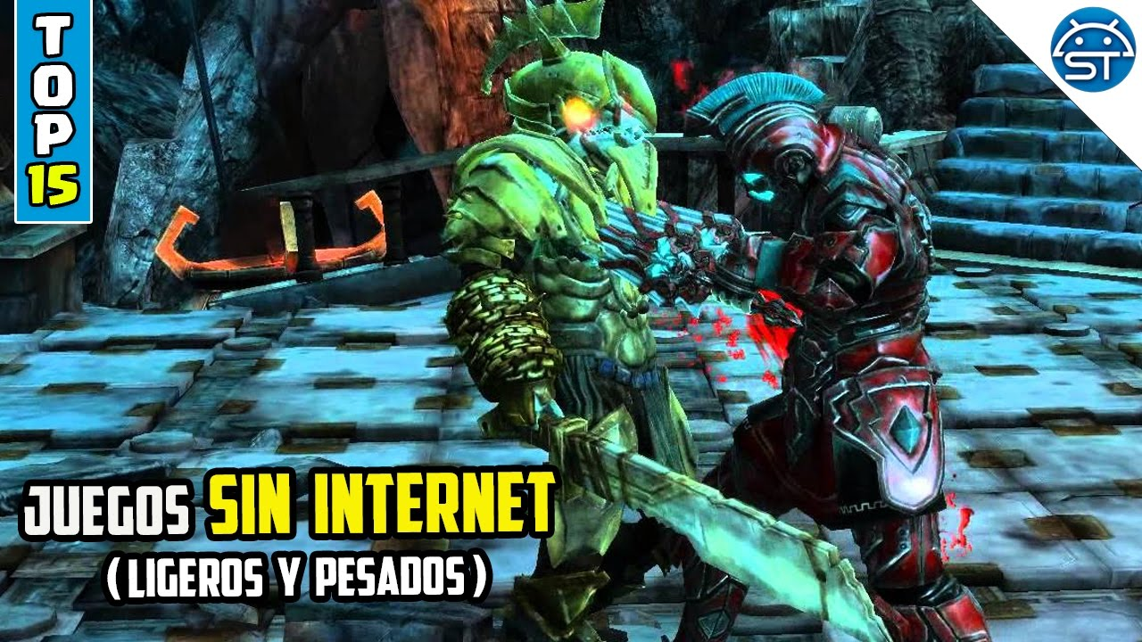 Top 15 Juegos Android Sin Internet Ligeros Y Pesados Gratis