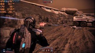 GTX 1060 6GB + i5 7500 - Mass Effect 3 [Max Settings/1080p]