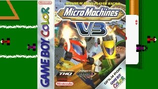 Micro Machines V3 | Game Boy Color/Gameplay/Full HD | 2000 | Novalicious / THQ