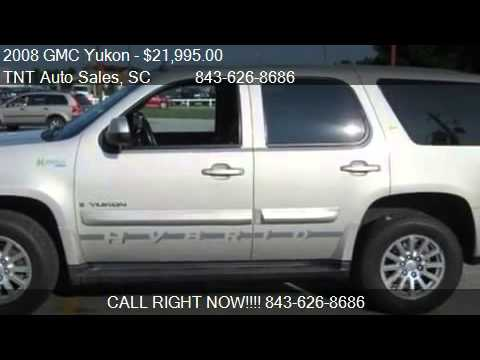 2008 gmc yukon for sale in conway sc 29526 at tnt auto sal youtube. Black Bedroom Furniture Sets. Home Design Ideas