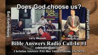 Bible Answers Radio Call-in #1: How Do You Know You
