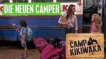 CAMP KIKIWAKA - Die neuen im Camp | Disney Channel