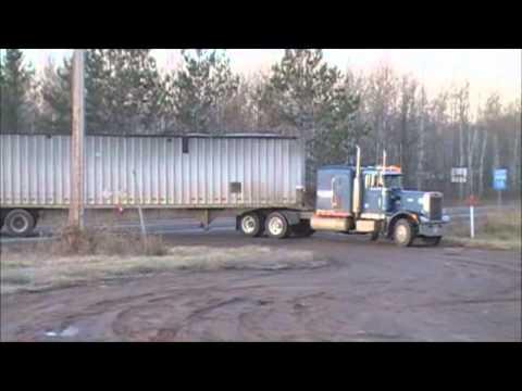 Peterbilt 359 With A Screamin 318 Detroit | FunnyCat TV
