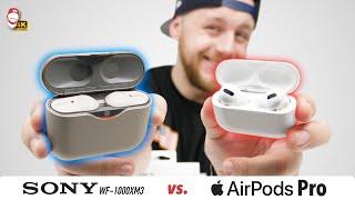 ???? Apple AirPods Pro vs. Sony WF-1000XM3: Souboj nejlepších ANC sluchátek! | WRTECH [4K]